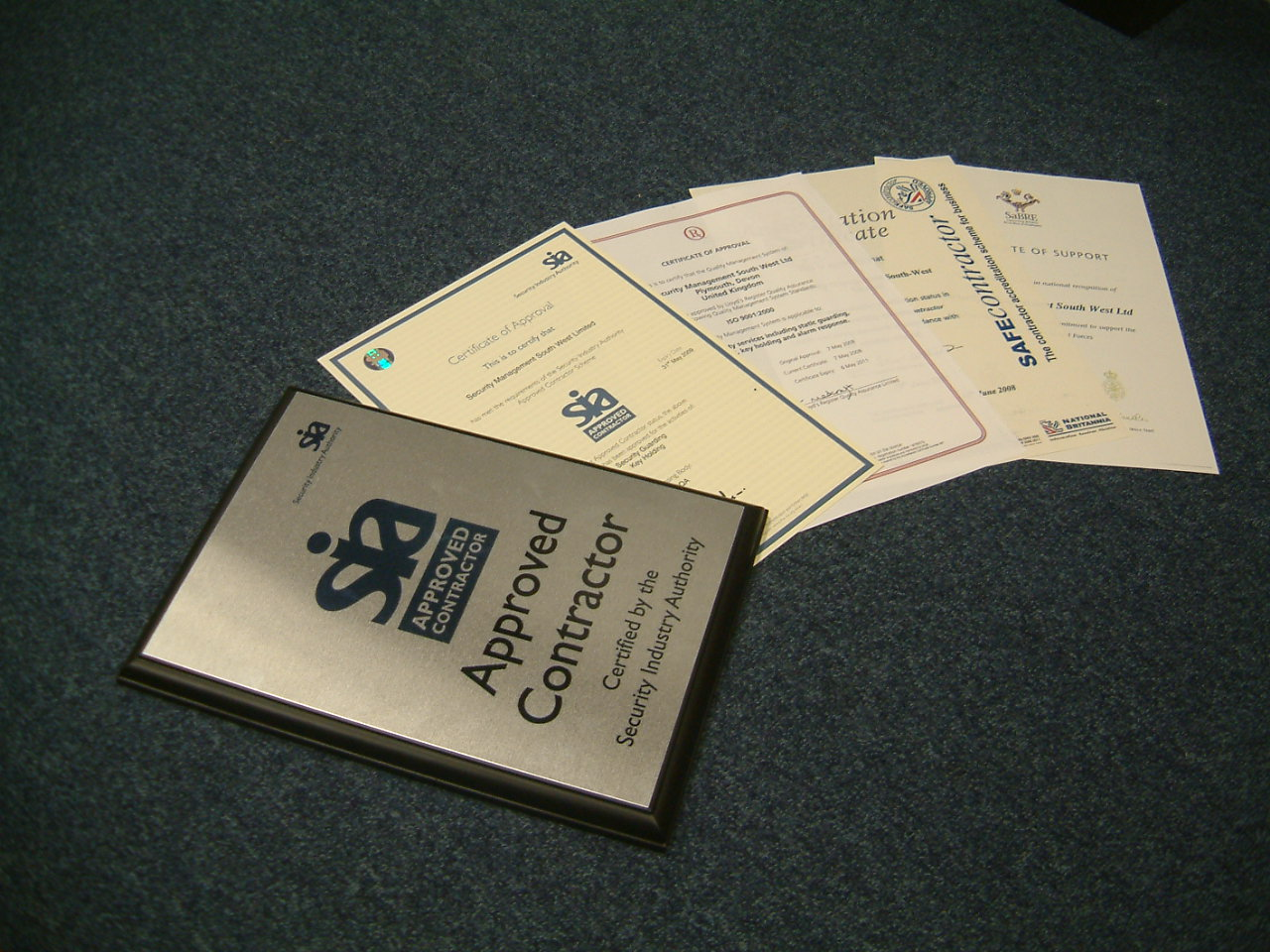 Another year, another ISO 9001 Quality Audit and SIA ACS Passed