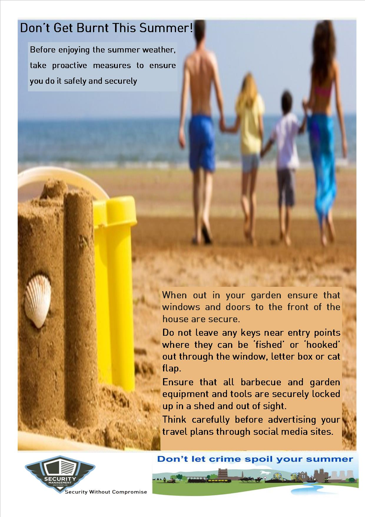 Summer Holiday Safety Tips